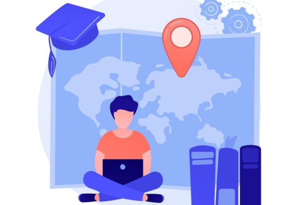 distance-university-courses-academic-degree-self-education-internet-classes-school-online-lessons-e-learning-college-student-cartoon-character_335657-3267